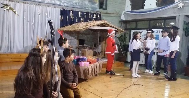 H χριστουγεννιάτικη και πρωτοχρονιάτικη εορτή - Festa e Krishtlindjeve dhe Vitit të Ri