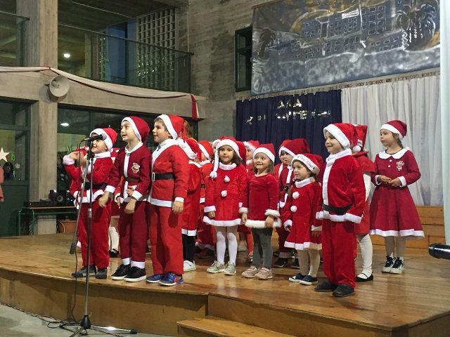 Χριστουγεννιάτικη και πρωτοχρονιάτικη εορτή - Festa e Krishtlindjeve dhe Vitit të Ri në Arsakeion e Tiranës