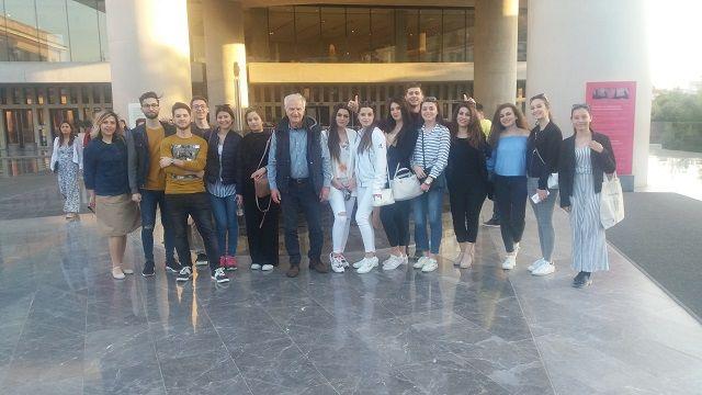 Οι μαθητές τής ΙΑ΄ τάξης στην Αθήνα - Klasa e XI në Athinë