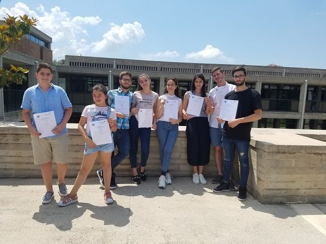 Διάκριση στους Διαρσακειακούς Αγώνες Λόγου και Τέχνης - Arritje në konkursin e artit dhe letërsisë midis shkollave Arsakeio