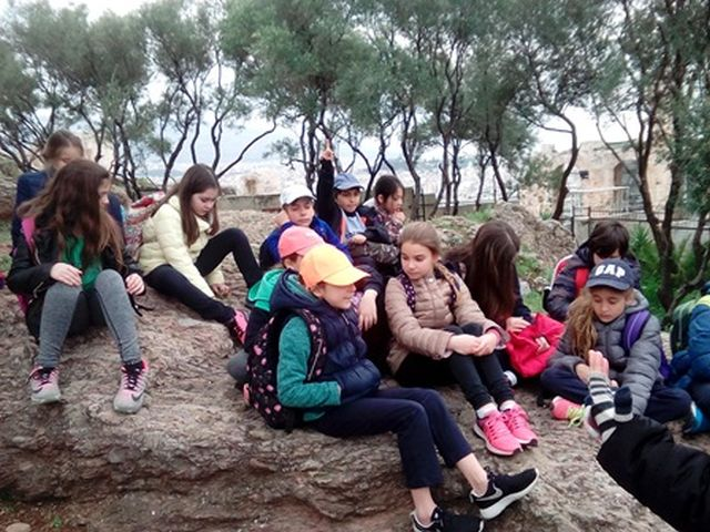 Επίσκεψη στην Ακρόπολη (Δ΄ τάξη)