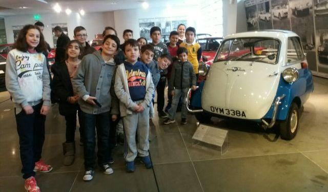 Επίσκεψη στο Ελληνικό Μουσείο Αυτοκινήτου