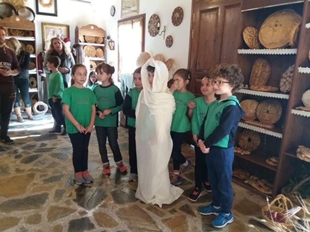 Επίσκεψη στο Ευρωπαϊκό Μουσείο Άρτου στον Βαρνάβα