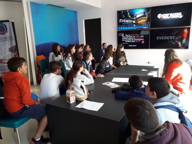 Επίσκεψη στον χώρο εικονικής πραγματικότητας «VR Project»