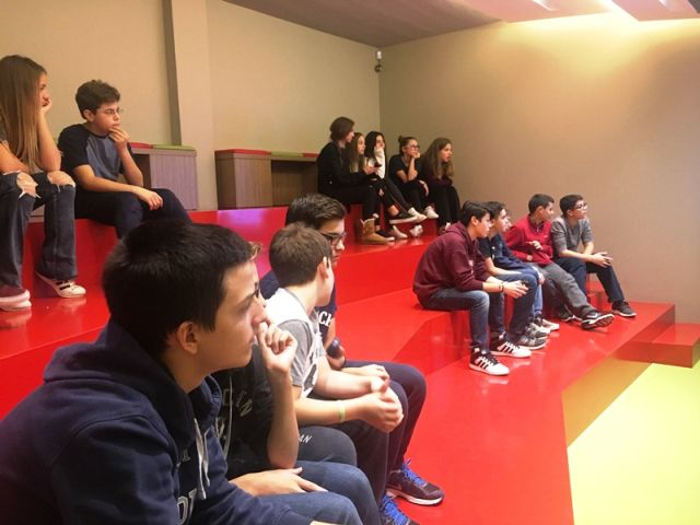 Διδακτική επίσκεψη στο «Team Magma»