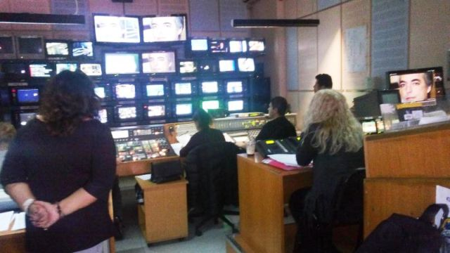 Διδακτική επίσκεψη στο Ραδιομέγαρο τής ΕΡΤ