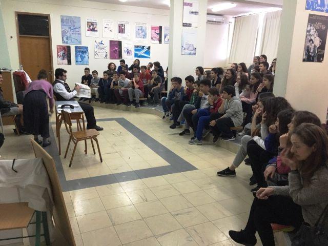 Η θεατρική ομάδα «Θεατρόνιο» στο Σχολείο μας