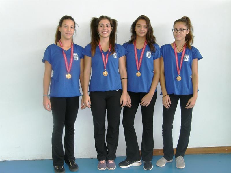 1η θέση στην παγκόσμια διοργάνωση γυμναστικής «Gym for Life Challenge»