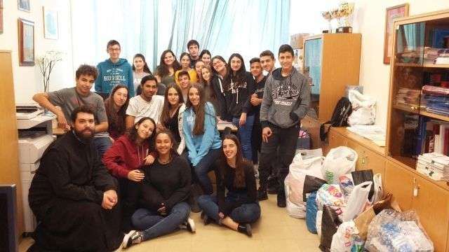 Κοινωνική και φιλανθρωπική δράση κατά το σχολικό έτος 2017-2018