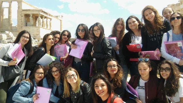 Μαθητές από την Ιταλία επισκέφθηκαν το Σχολείο