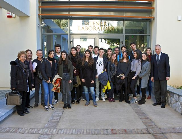 Επίσκεψη στην Αμερικάνικη Σχολή Κλασικών Σπουδών
