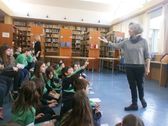 Ταξιδεύοντας στην Ιστορία με τη συγγραφέα Μαρία Αγγελίδου