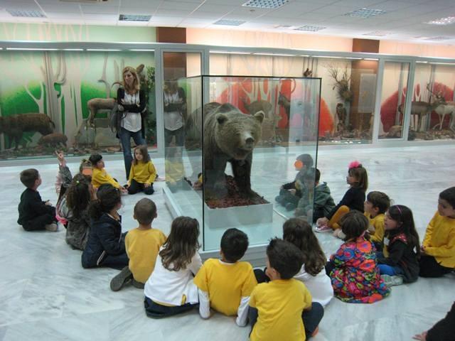 Επίσκεψη στο Μουσείου Φυσικής Ιστορίας τού Δήμου Αμαρουσίου