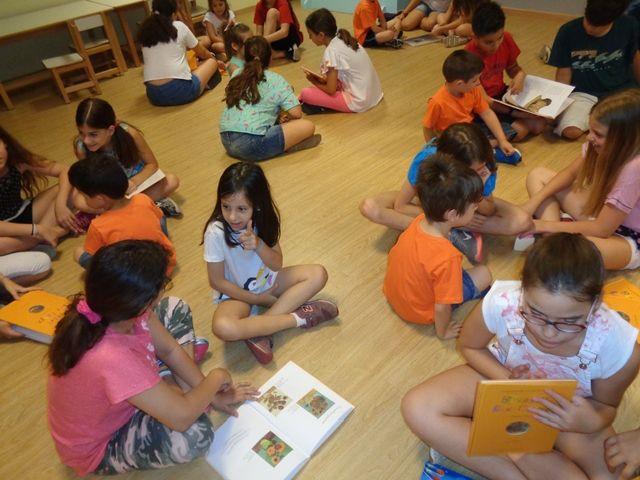 Πρόγραμμα φιλαναγνωσίας παρέα με μαθητές δημοτικού