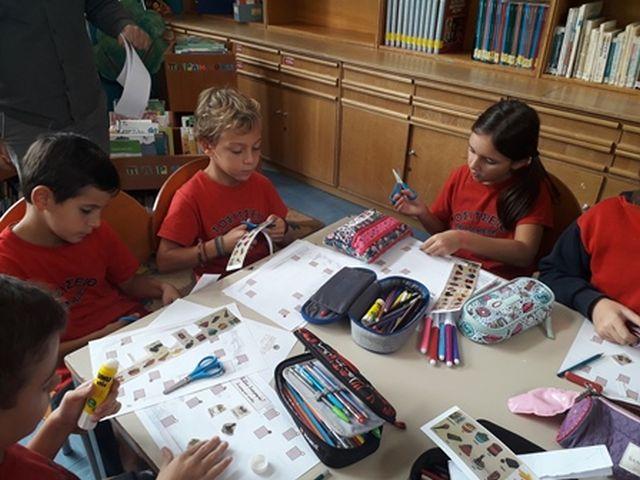 Δραστηριότητες στη Βιβλιοθήκη τού Σχολείου