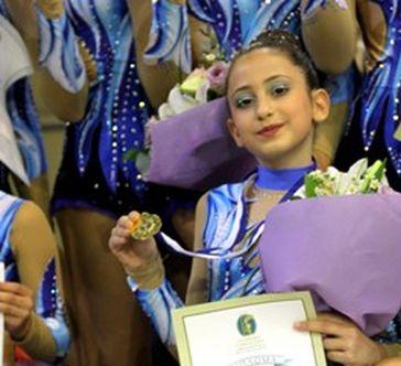 Χρυσό μετάλλιο στο 31ο Πανελλήνιο Πρωτάθλημα Ακροβατικής Γυμναστικής