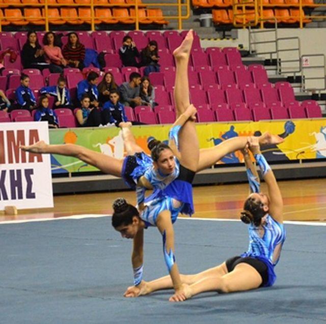 Χρυσό μετάλλιο στο Πρωτάθλημα Ακροβατικής Γυμναστικής