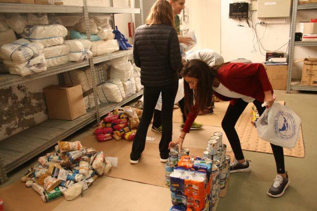 Βοηθάμε την Τράπεζα Τροφίμων