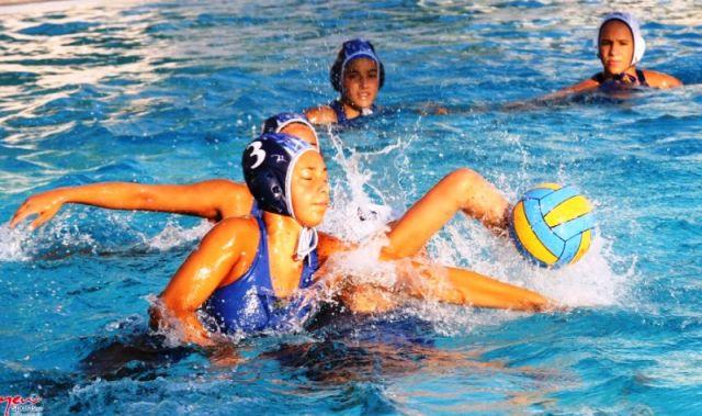 Μαθήτρια στο camp υδατοσφαίρισης τήςΕθνικής Ομάδας ΚολύμβησηςΚορασίδων