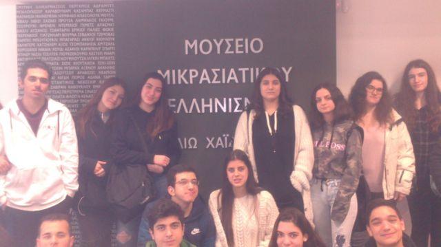 """Επίσκεψη στοΜουσείο Μικρασιατικού Ελληνισμού """"Φιλιώ Χαϊδεμένου"""""""