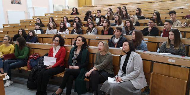 e-Twinning: Φιλοξενώντας τους Ιταλούς μαθητές