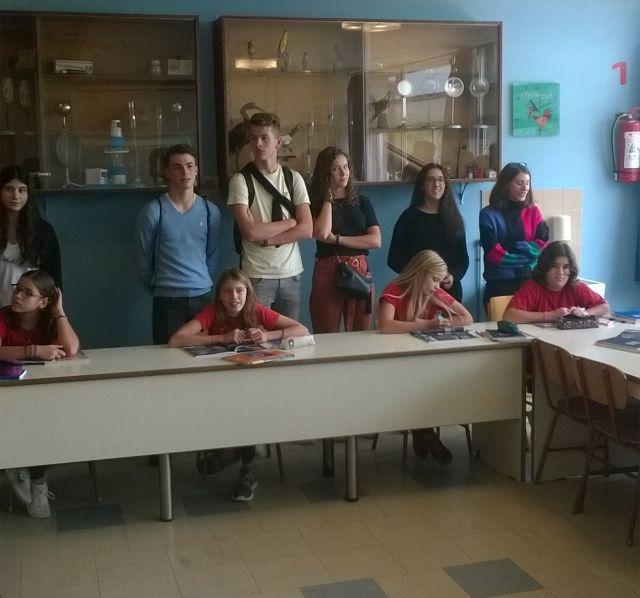Επίσκεψη μαθητών ολλανδικού σχολείου