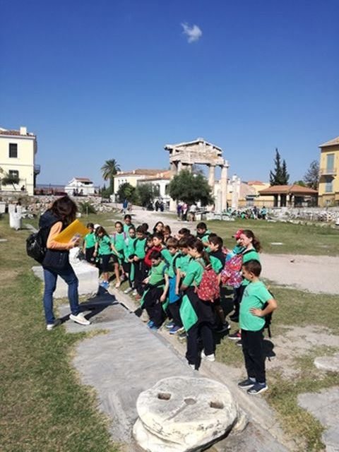 Περπατώντας στην Αρχαία και τη Ρωμαϊκή Αγορά των Αθηνών