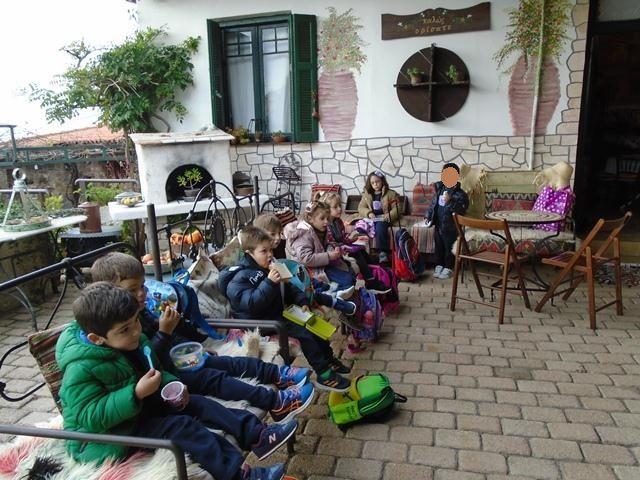 Επίσκεψη στο Λαογραφικό Μουσείο Βαρνάβα