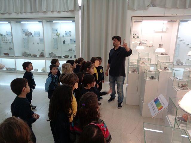Επίσκεψη στο Μουσείο Ορυκτολογίας και Πετρολογίας