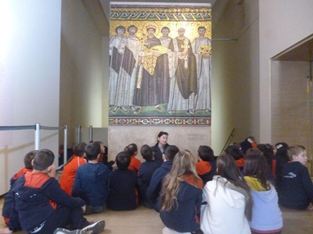 Επίσκεψη στο Βυζαντινό Μουσείο - Ε΄ τάξη