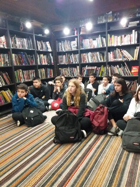 Εκπαιδευτική επίσκεψη στην Athens Comics Library