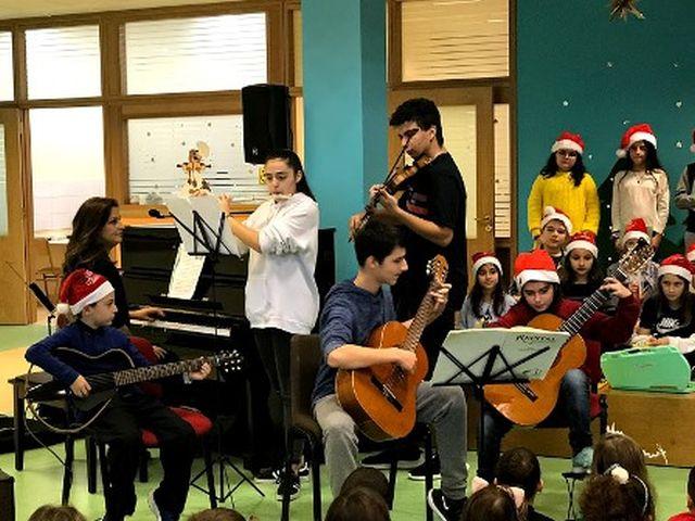Χριστουγεννιάτικη συναυλία στο Νηπιαγωγείο