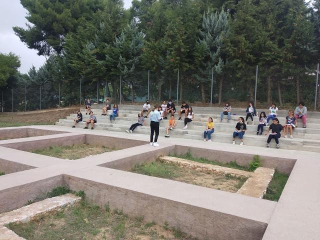 Υπαίθρια μαθήματα στο Αρχαιολογικό Πάρκο
