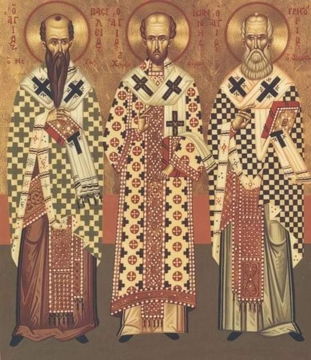 Τρεις Ιεράρχες: τρεις Μέγιστοι Δάσκαλοι