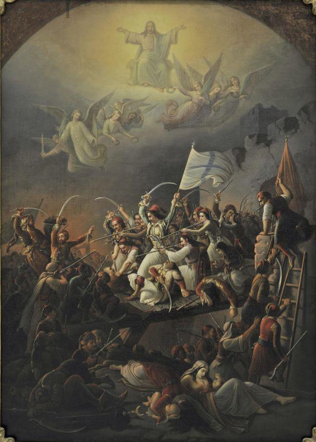 Εορτασμός εθνικής επετείου τού 1821