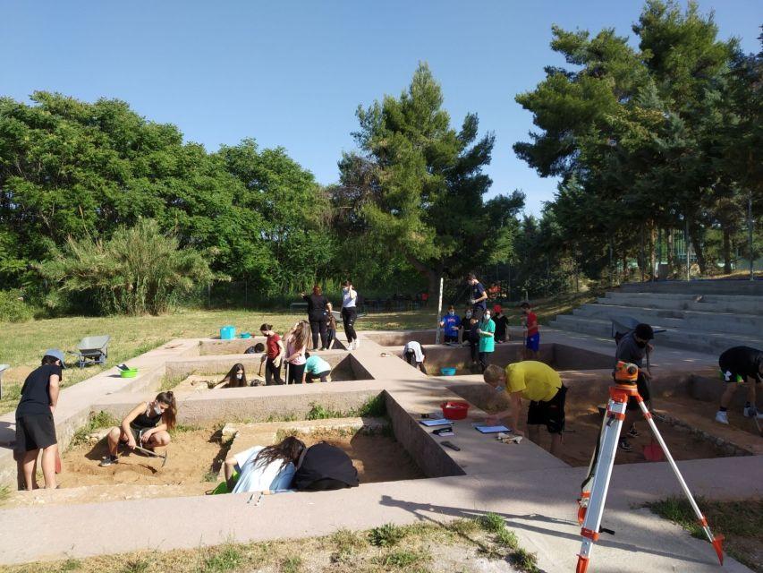 Δειγματική ανασκαφή στο Αρχαιολογικό Πάρκο