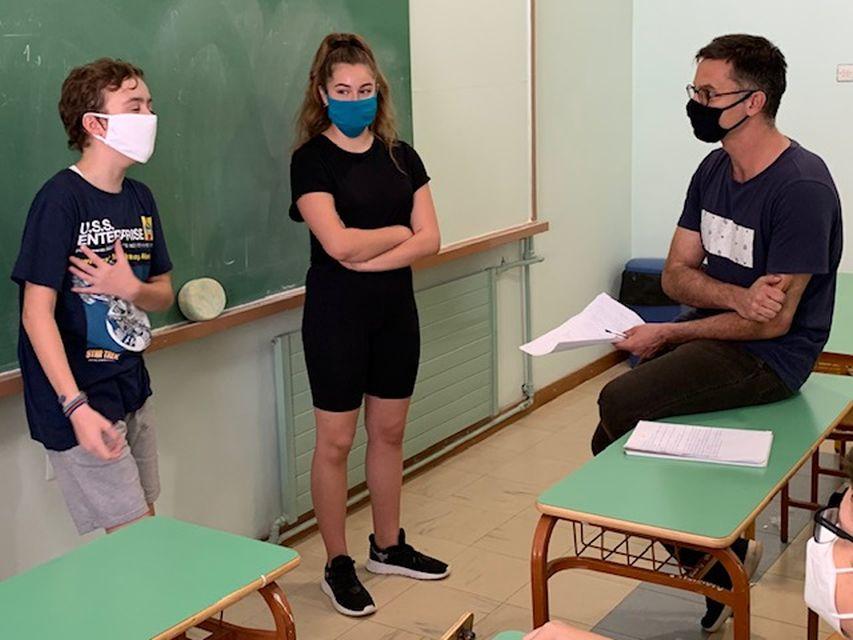 Διαθεματικό μάθημα Γερμανικών και Θεάτρου