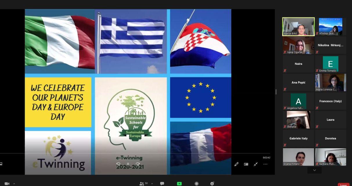 Ημέρα τής Ευρώπης(EUROPE DAY 2021)