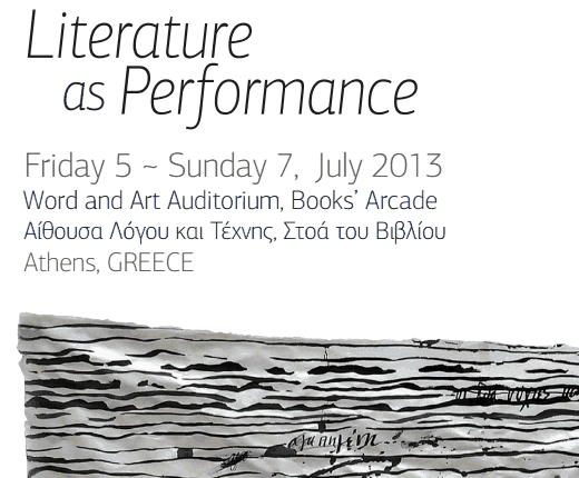 Conference on Literature as Performance