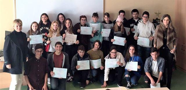 Επιτυχία στις εξετάσεις Delf και Sorbonne