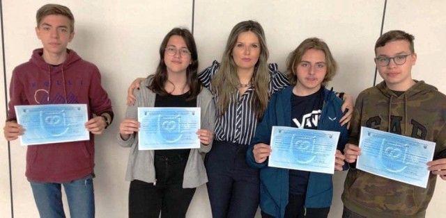 4 βραβεία Αριστείας στον Πανελλήνιο Διαγωνισμό Φυσικής
