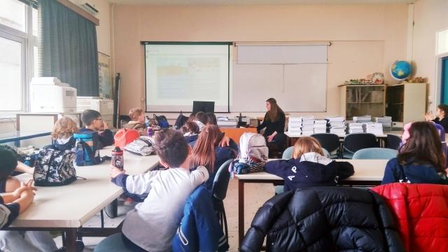 Επίσκεψη στο Εργαστήριο Περιβαλλοντικής Εκπαίδευσης τού Πανεπιστημίου Ιωαννίνων