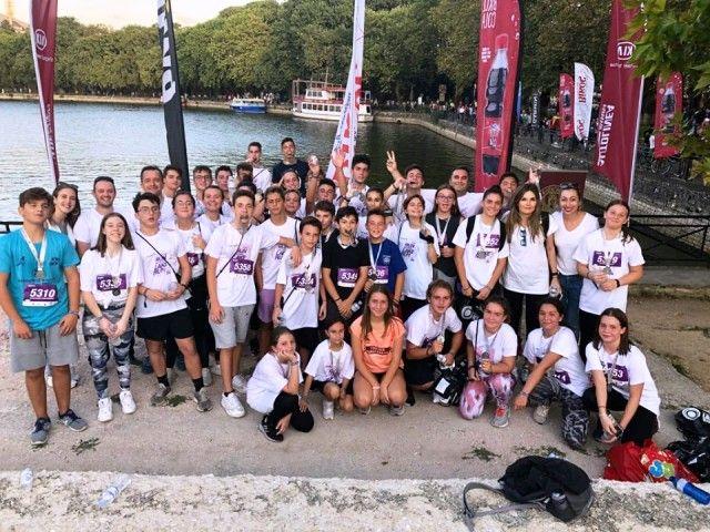 Συμμετοχή στα 5 χλμ τού Lake Run 2019