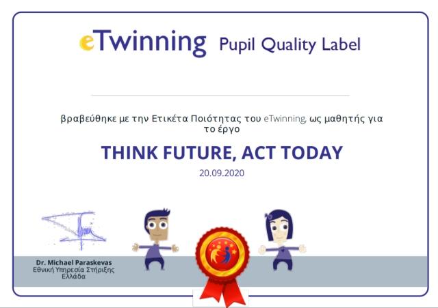 Εθνικές Ετικέτες Ποιότητας e-Twinning