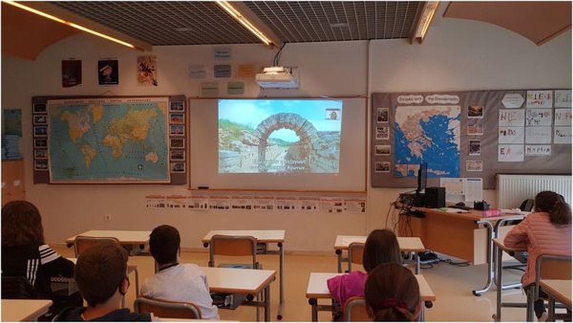 Ολυμπιακή Παιδεία - Ζωντανή σύνδεση με την Αρχαία Ολυμπία (Δ΄, Ε΄, Στ΄ τάξεις)