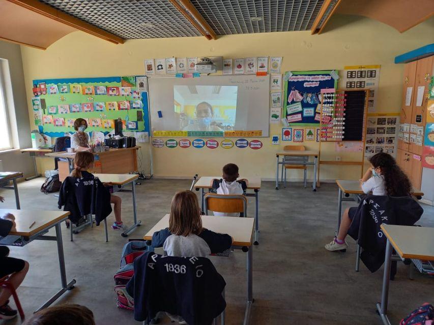 Διαδικτυακή δράση e-Twinning (Α΄ τάξη)