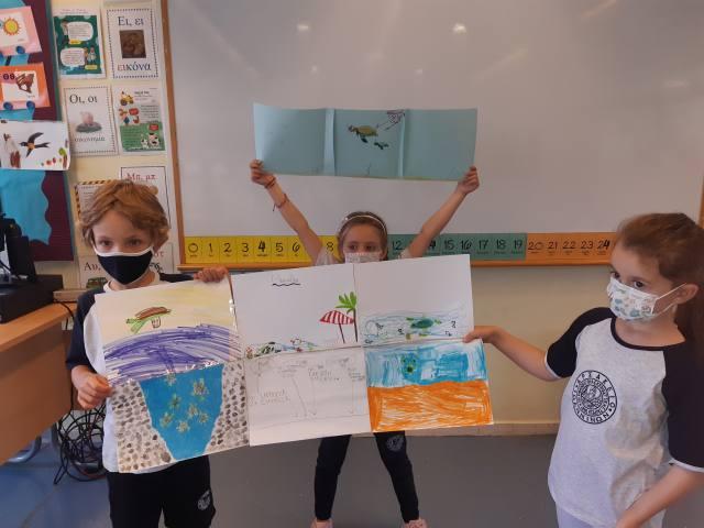 Η Α΄ τάξη υιοθετεί τρεις θαλάσσιες χελώνες!
