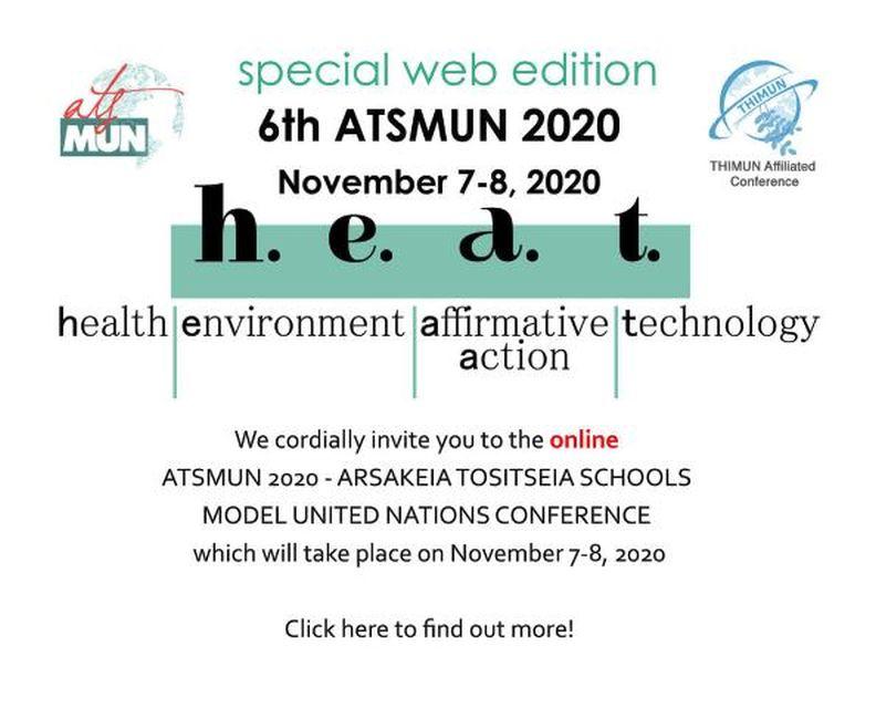 Συμμετοχή στο 6ο Web ATSMUN