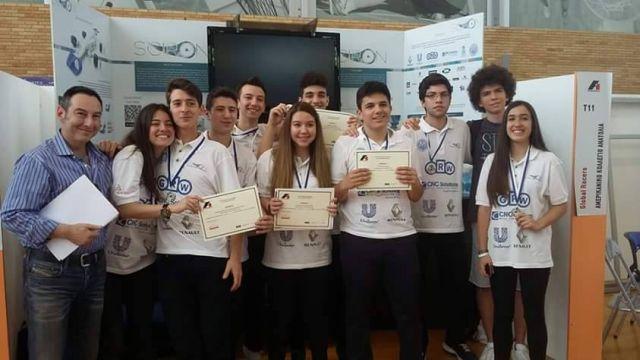 Βραβεία στον 5ο Πανελλήνιο Διαγωνισμό Τεχνολογίας F1 in Schools