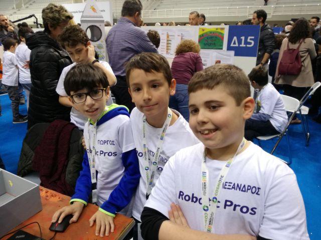 8 ομάδες των Αρσακείων στον Πανελλήνιο Τελικό Ρομποτικής!